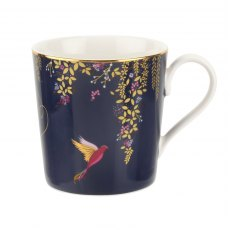 Sara Miller Chelsea Collection Mug Navy