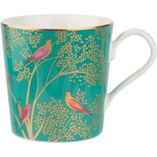 Sara Miller Chelsea Collection Mug Green