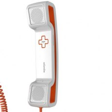 Swissvoice ePure Corded Handset - Orange & White