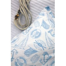 Lexington Seaside Collection Light Blue Single Bedding Set