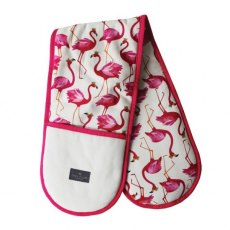Sara Miller Double Oven Glove Flamingo