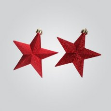 Shiny Glitter Stars - Set of 3