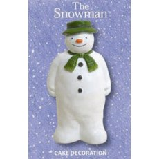 The Snowman Cake Decoration Boxed