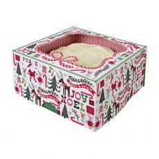 Merry & Bright Large Cake Box