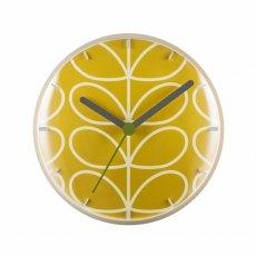 Orla Kiely Linear Stem Wall Clock Dandelion