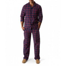 Lexington Mens Holiday Pajama Blue Check