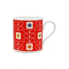 Orla Kiely Linear Stem Poppy Mug