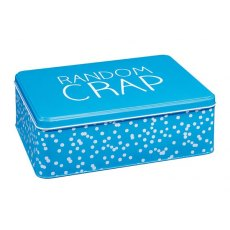 Happy Jackson Extra Large Rectangular Tin
