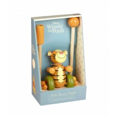 Tigger Wooden Push Along Boxed