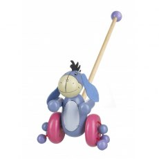 Eeyore Wooden Push Along Boxed