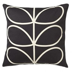 Orla Kiely Linear Stem Cushion Slate Blue
