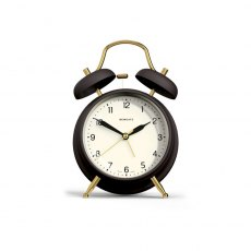 The Brass Knocker Alarm Clock - Matte Black