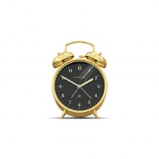 The Charlie Bell Alarm Clock - Brass