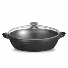 Sophie Conran for Portmeirion Black Shallow Casserole Dish