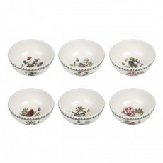 Botanic Garden Birds Fruit Salad Bowl
