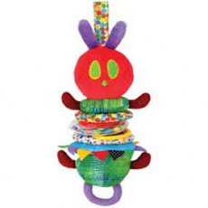 The Very Hungry Caterpillar Developmental Wiggly Jiggly Caterpillar