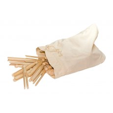Storm Pegs In Cotton Bag 50pc