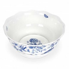 Botanic Blue Salad Bowl