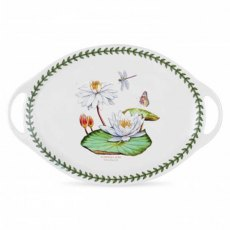 Exotic Botanic Garden Oval Handle Platter