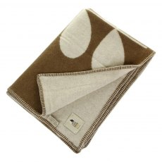 Orla Kiely Walnut Cream Reversible Giant Stem Elephant Throw