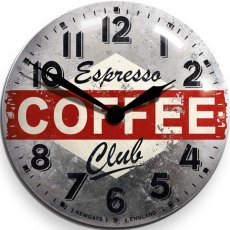Newgate Espresso Advertising Clock