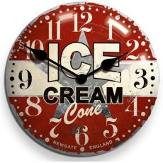 Newgate Ice Cream Advertising Clock