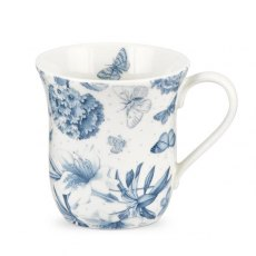 Botanic Blue Mug 12oz