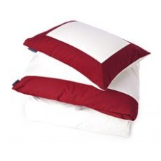 Lexington Holiday Collection Red Sateen Single Duvet Cover