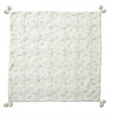 Petit Pehr Tiny Bunny Quilted Pom Pom Blanket