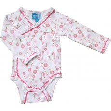 Cherry Blossom Baby Vest 3-6 Months