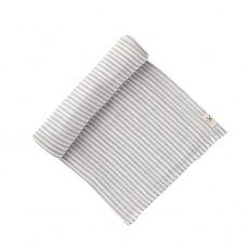 Petit Pehr Grey Stripe Swaddle