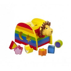 Lion Wooden Shape Sorter