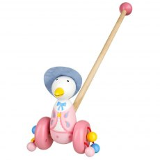 Jemima Puddleduck Wooden Push Along