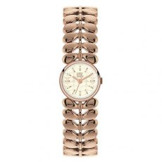 Orla Kiely Laurel Rose Gold Plated Watch