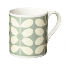 Orla Kiely 60's Stem - Duck Egg Mug