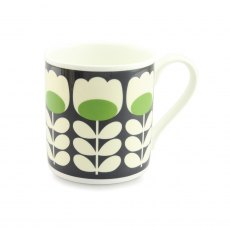 Orla Kiely Green Tulip Stem Quite Big Mug