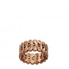 Orla Kiely Buddy Rose Gold Stem Ring