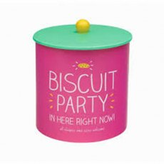Happy Jackson Party Biscuit Barrel