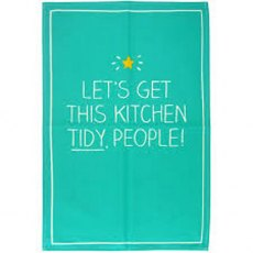 Happy Jackson Kitchen Tidy Tea Towel