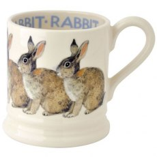 Emma Bridgewater Rabbit 1/2 Pint Mug