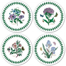 Botanic Garden Round Coasters Set of 4