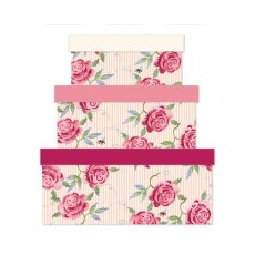 Emma Bridgewater Rose & Bee Stripe Gift Box Large