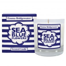 Emma Bridgewater Sea Blue Flowers Candle 200g