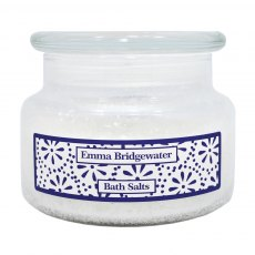 Emma Bridgewater Sea Blue Flowers Bath Salts