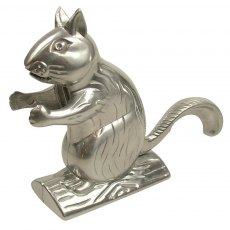 Chrome Squirrel Nut Cracker