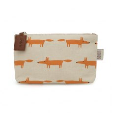 Mr Fox Medium Cosmetic Bag