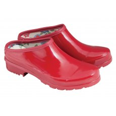 Laura Ashley Classic Garden Clogs Size 4