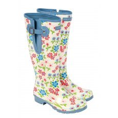 Laura Ashley Pattern Wellington Boots Size 5