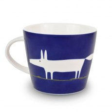Mr Fox Indigo Mug