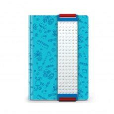 LEGO Blue Building Band A5 Journal